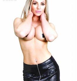* SOLEIL  by XXX COLLECTION Sexy Rokje met vetersluiting met een afneembaar deel