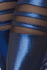 Sexy blauw metalic  Gogo combinatie