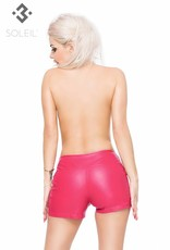 * SOLEIL  by XXX COLLECTION Eco Leren  Hotpants