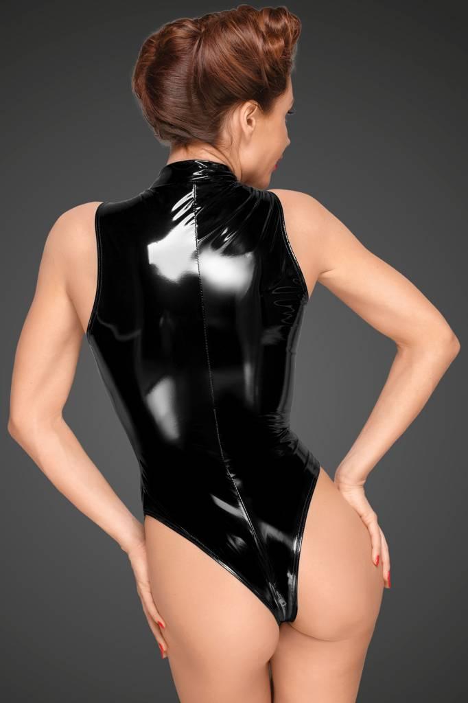* NOIR handmade Lak Body met diep uitgesneden schouderlijn van Noir Handmade Decadence