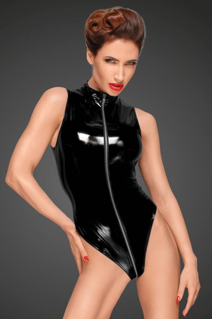 NOIR handmade Lak Body met diep uitgesneden schouderlijn van Noir Handmade Decadence