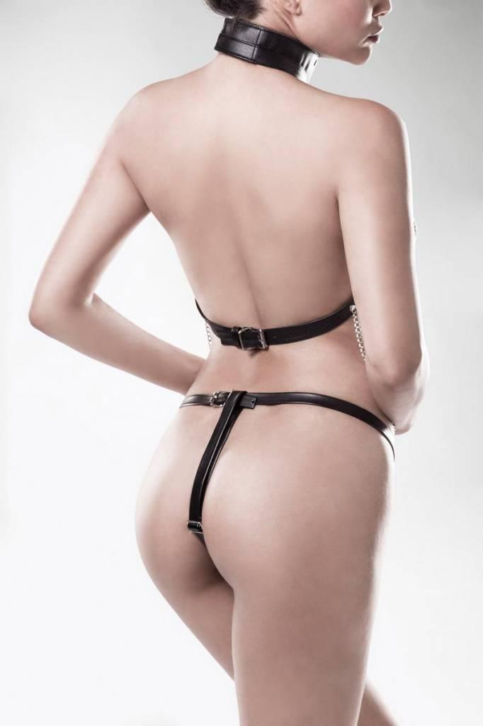 * GREY VELVET 3-delige kettingharnas met string van Grey Velvet