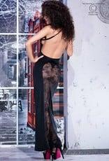 * CHILIROSE Lange jurk met transparante achterkant van Chilirose