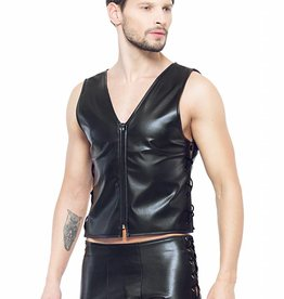 XXX COLLECTION Eco-leder gilet