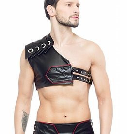 XXX COLLECTION Gladiator Harnas met rode bies