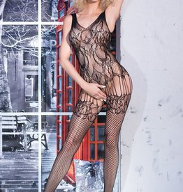 * CHILIROSE Bodystocking CR4232-Zwart