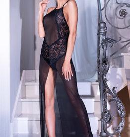 CHILIROSE Lange jurk