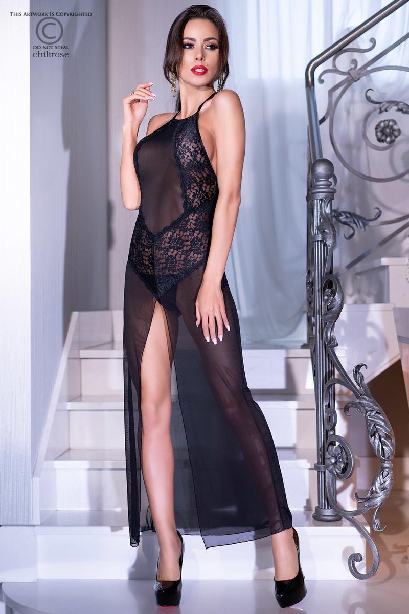 * CHILIROSE Lange jurk