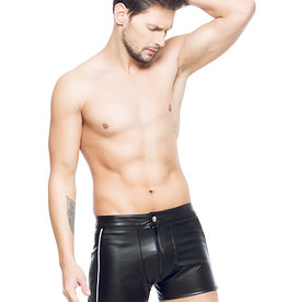 Code8 by XXX COLLECTION Heren short Zwart/Zilver