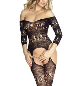 Off Shoulder Bodystocking