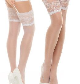 Witte kousen Romy