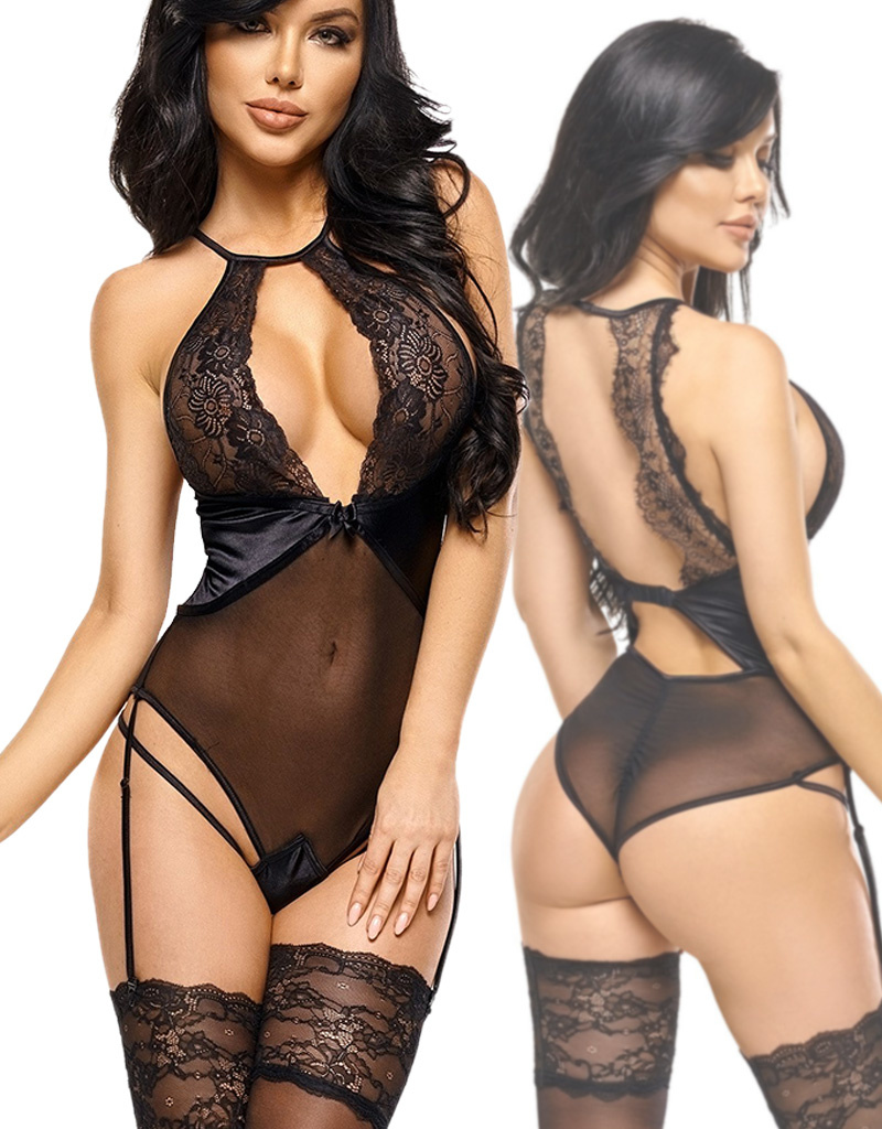 Zwarte Body Laura
