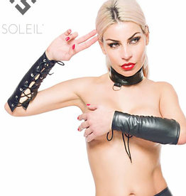 * SOLEIL  by XXX COLLECTION Zwarte onderarm Sleeves