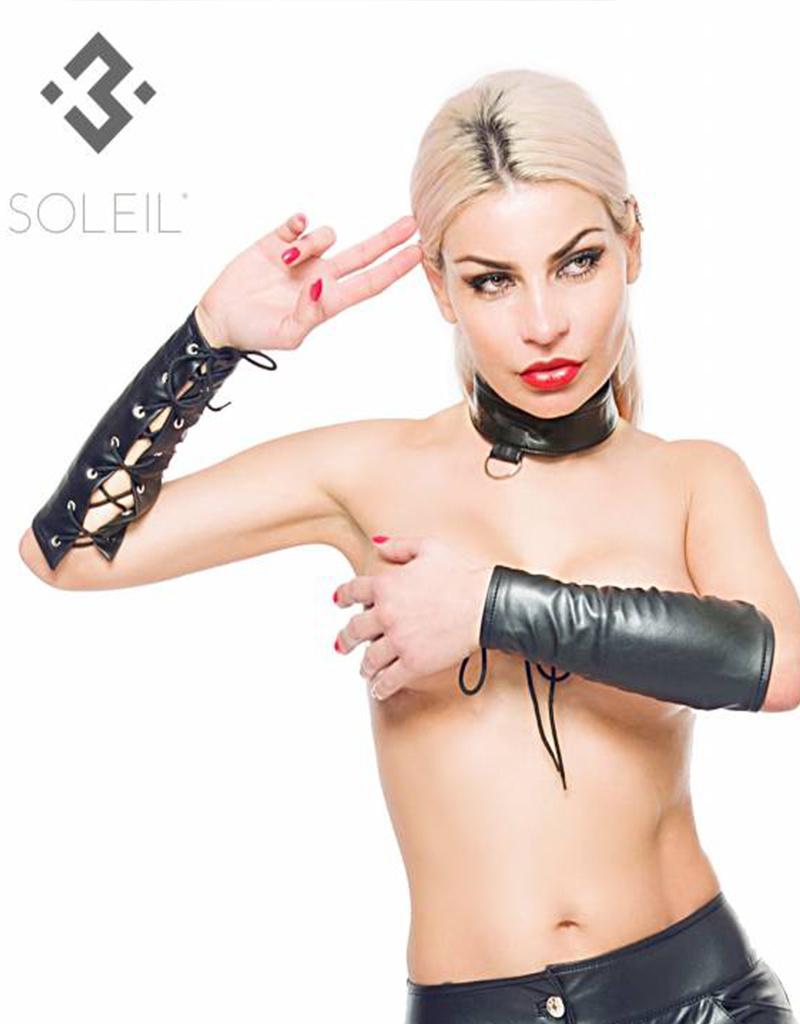 * SOLEIL  by XXX COLLECTION Zwarte onderarm Sleeves