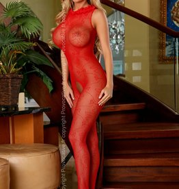 PROVOCATIVE Rode  Bodystocking