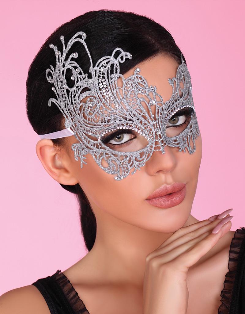 * LIVCO CORSETTI Sierlijk masker zilverkleurig