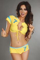* LIVCO CORSETTI 2-delige Sexy cheerleader setje Eufemia van Livco Corsetti