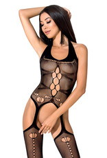 Zwarte bodystocking Elif van Passion