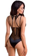 Sensuele en elegante kanten body  met choker Davina