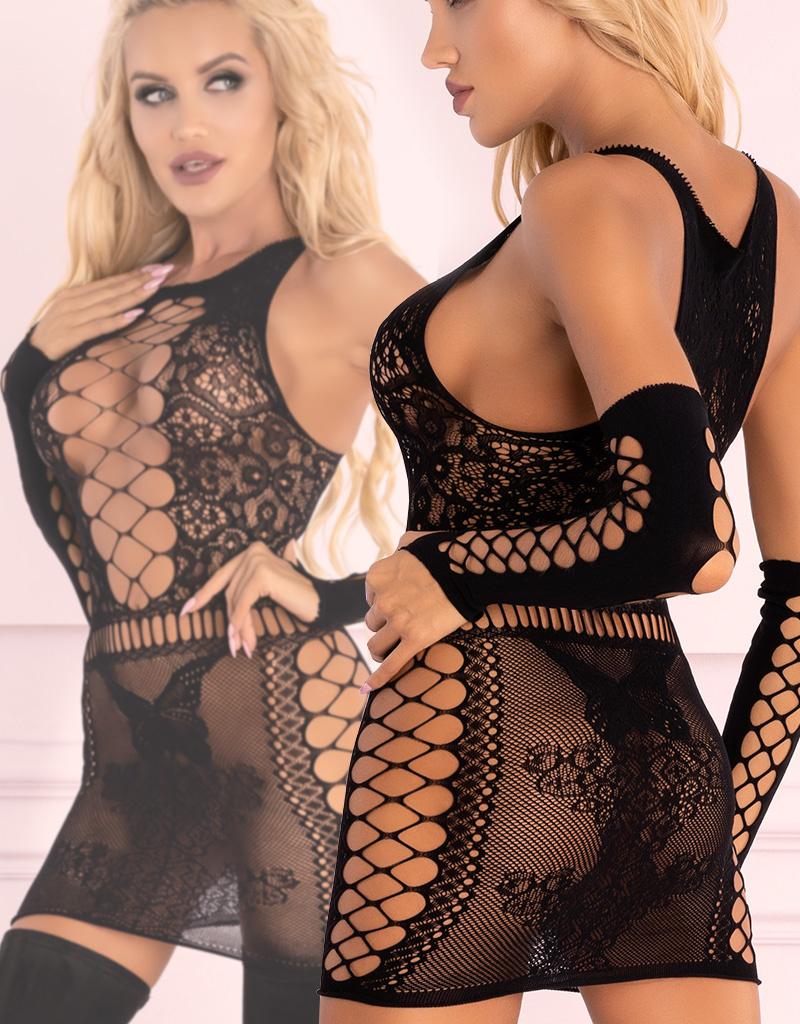 * LIVCO CORSETTI Zwart jurkje Marlamina