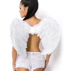 Verleidelijke witte vleugels