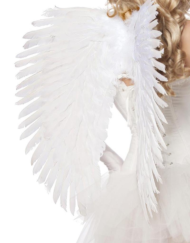 Grote witte engelen vleugels