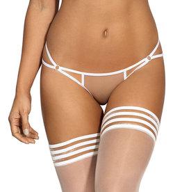 Witte tule string  Carol