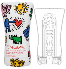Tenga Masturbator - Keith Haring Soft Tube Cup