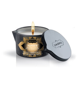Vanilla Sandalwood massagekaars - 170 gram