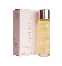 Sensual Massage Olie - Champagne/Aardbei