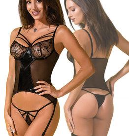 Zwarte body Astrima
