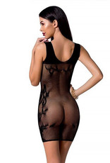 Zwart mesh jurkje Rona van Passion