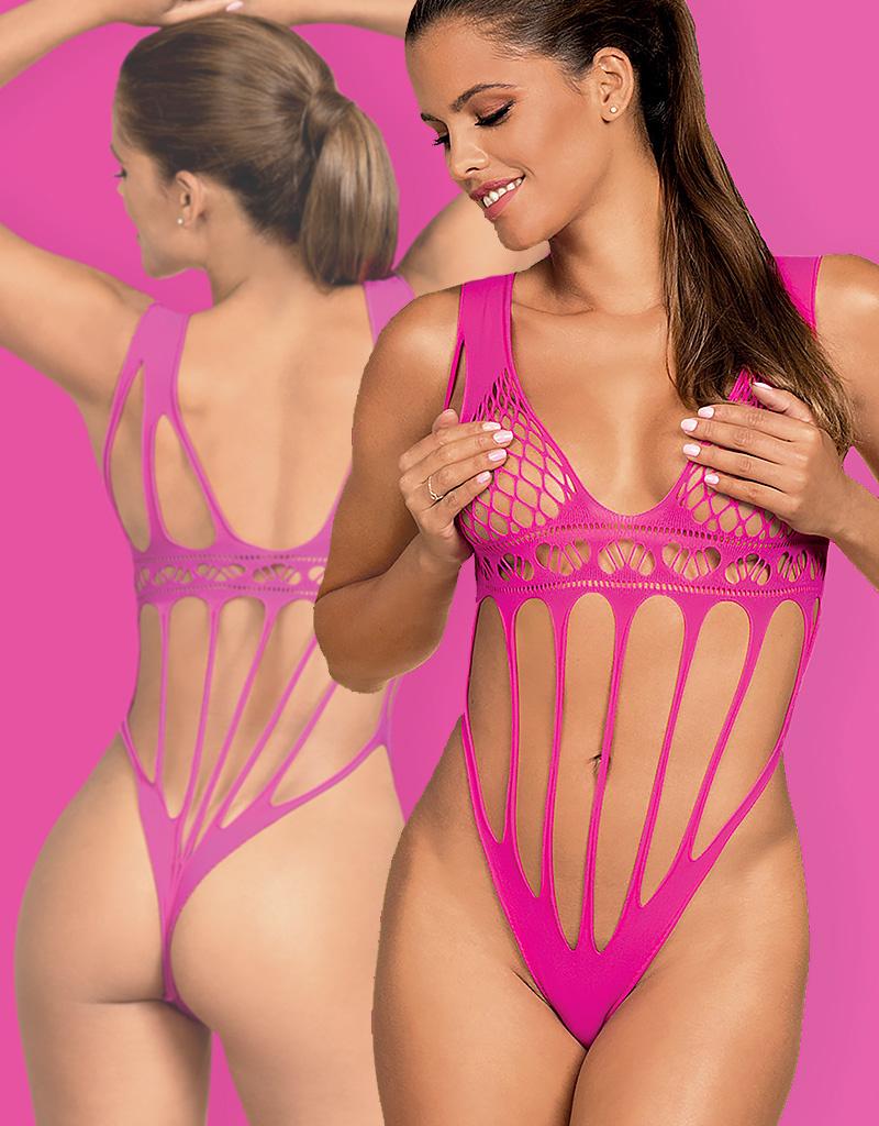 * OBSESSIVE Verleidelijke roze body Lirra