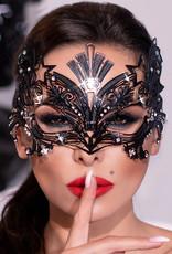 * CHILIROSE  Extravagante masker van messing van Chilirose
