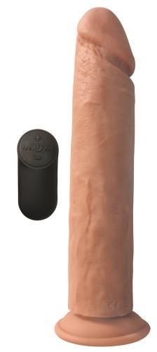 Big Shot Vibrerende XL Dildo Met Zuignap - Huidskleur
