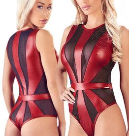 Zwart rode Stringbody Ranomi