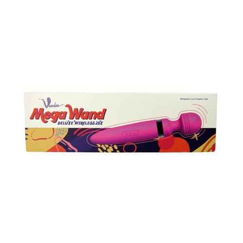 Voodoo Deluxe Mega Wand Vibrator Draadloos - Roze