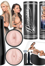Pornstar Series - Nina & Holly Anus/Anus