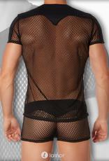 Mesh heren Shirt van Look Me