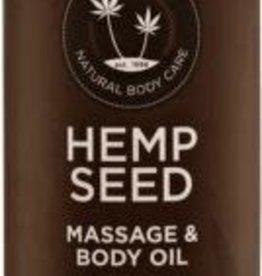 Earthly Body Skinny Dip Massage Olie - Suikerspin/Vanille