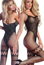 * LIVCO CORSETTI Sexy zwarte bodystocking Beatriz van Livco corsetti