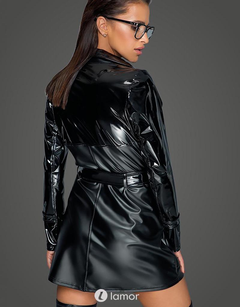 * NOIR handmade Zwarte trenchcoat van Noir handmade - MissBehaved Collection