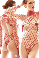 Net  body Forca Red van Anais Apparel