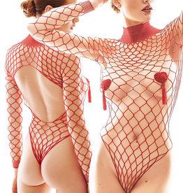 Net  body Forca Red