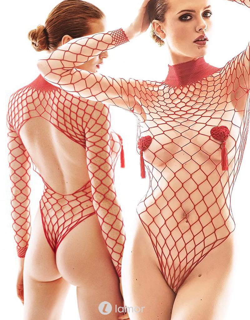 Net body Forca Red
