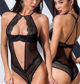Zwarte Body Yona