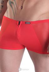 Rode  heren boxershort Wiz van het merk Look Me
