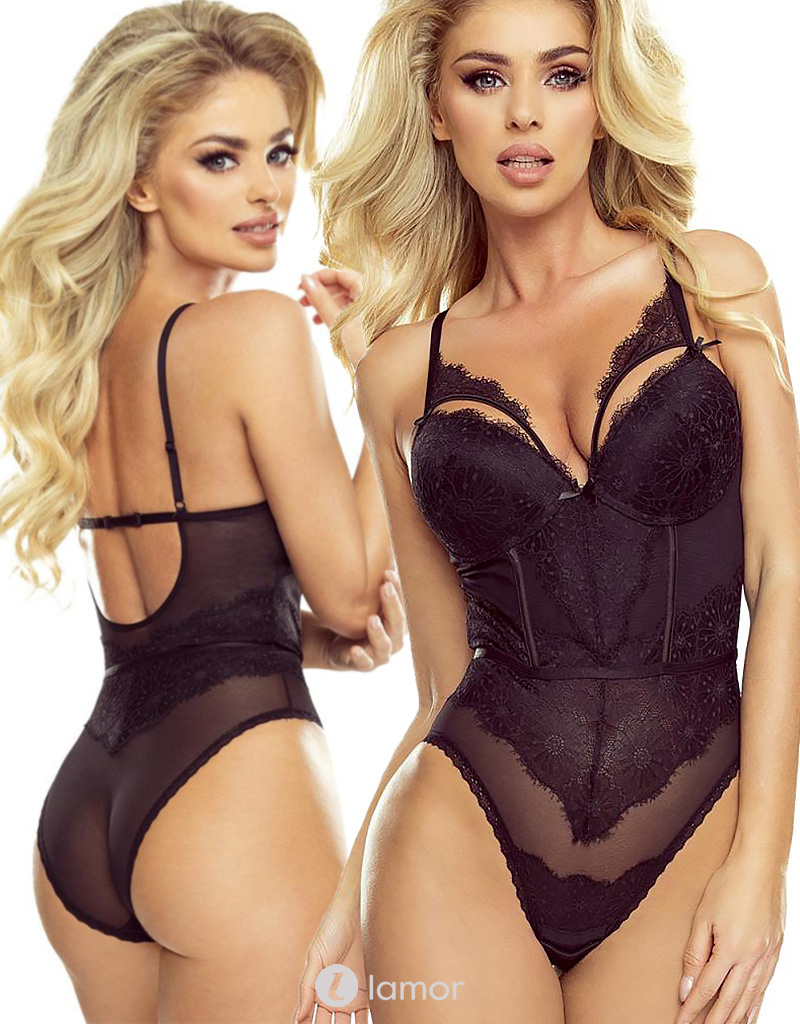 * PROVOCATIVE Zwarte body Passion Glamour