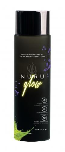 Nuru Glow Body2Body Massage Gel - 335 ml