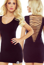 * PROVOCATIVE Zwart bodycon jurk je Ingrid van Provocative.